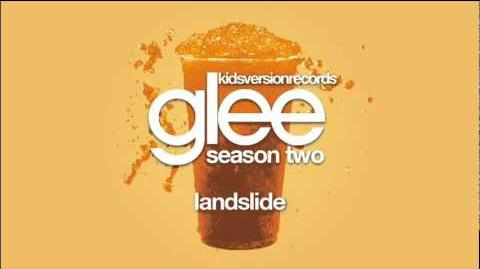Landslide - Glee (Audio)