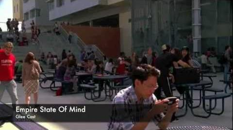 GLEE Empire State Of Mind Video-1