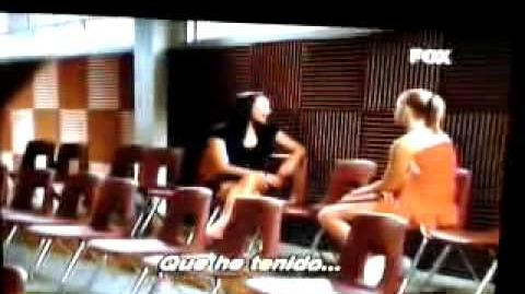 "Glee-Brittana-The Break-Up ""Mine"" (sub"