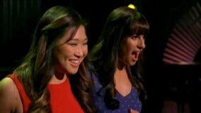 Tina y Rachel en Flashdance What A Feeling