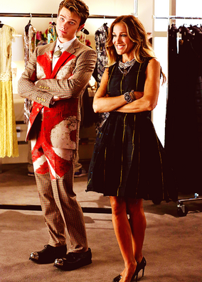 4x03 Kurt e Isabelle Makeover