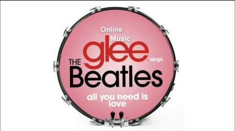 All You Need Is Love - Glee HD Full Studio-3