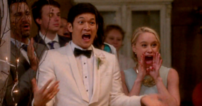 6x08 Mike & Kitty A Wedding