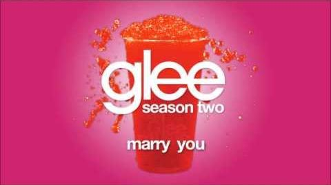 Marry You Glee HD FULL STUDIO