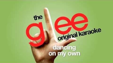 Glee - Dancing On My Own - Karaoke Version (Exclusive)