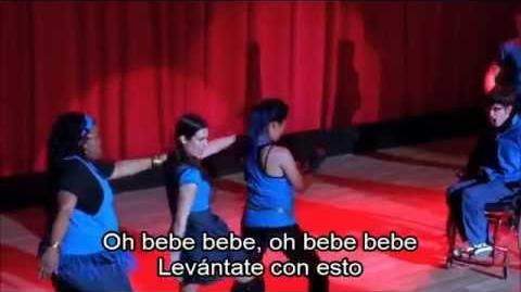 Glee Push It (New Directions)