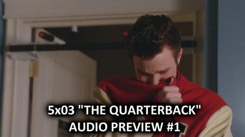 "Glee 5x03 Audio Preview 1 ""The Quarterback"" ""Kurt returns to Lima for Finn's Memorial"" HQ"