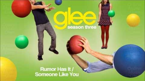 Rumor has it Someone like You - Glee