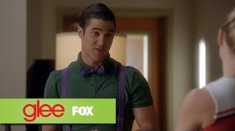 "Blaine Gets Bossy from ""Puppet Master"" GLEE"
