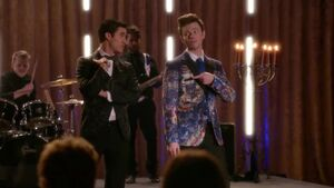 Blaine y kurt ab