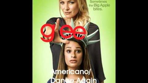 Glee - Americano Dance Again (Lyrics)