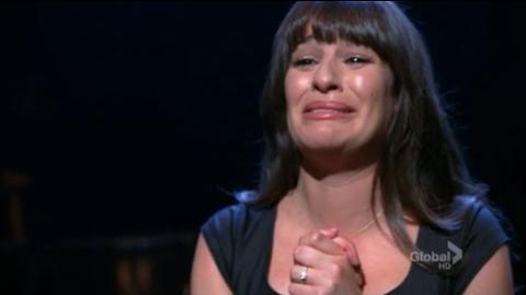 Glee 3x18 Choke Scene Rachel Chokes At Her NYADA Audition (Subtitled)
