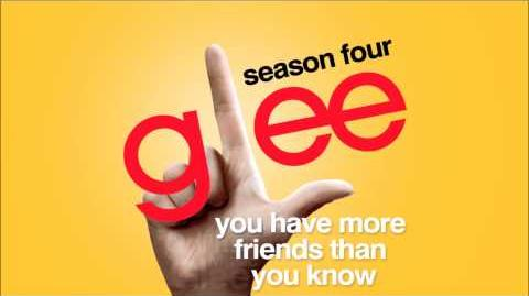 You Have More Friends Than You Know - Glee HD Full Studio-0