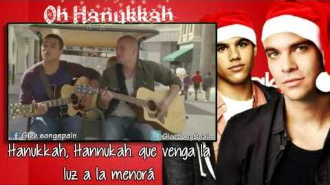 Glee -Hanukkah, Oh Hanukkah