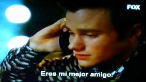 Klaine call-glee thanksgiving (Sub