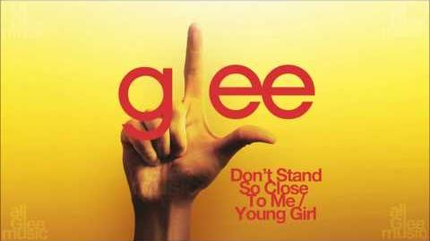 Don't Stand So Close To Me Young Girl Glee HD FULL STUDIO