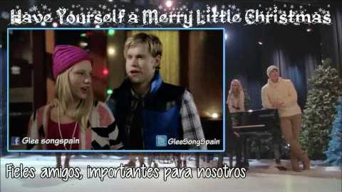 Glee - Have Yourself a Merry Little Christmas