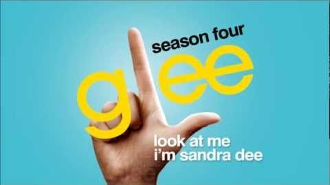 Look At Me I'm Sandra Dee - Glee HD Full Studio-0-1-2-3