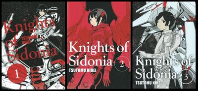 Knights-of-Sidonia-Covers