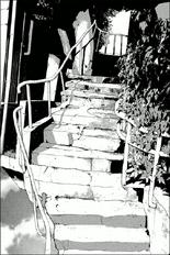 シドニア百景 そのニ十三 操縦士用外階段
