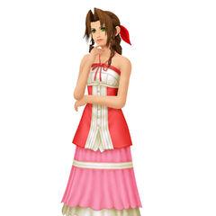 Aeris en Kingdom Hearts II