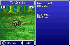 Estadisticas Tarantula 2
