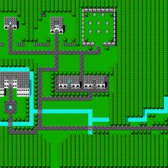 Mapa de Onlak (NES).