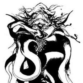 <center><small>Kraken en un dibujo de Yoshitaka Amano</small> </center>
