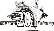 Logo Final Fantasy 20th Anniversary