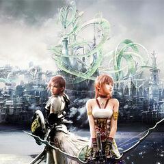 Lightning y Serah en <i>FFXIII-2</i>