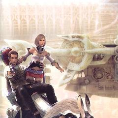 Balthier, Ashe y Fran Imagen Promocional