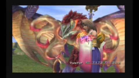 Final Fantasy X - Invocación Valefor