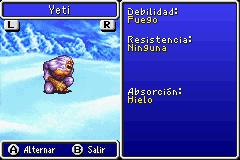 Estadisticas Yeti II 2