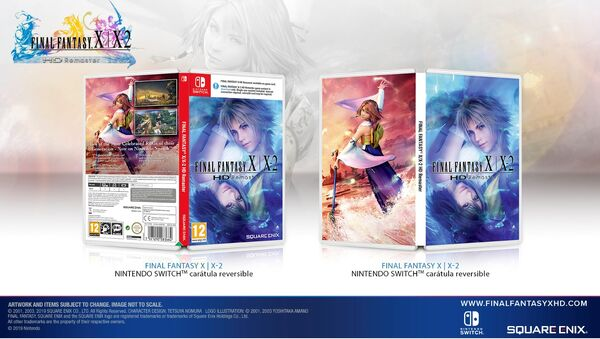 FFX X2 LE PACKAGING