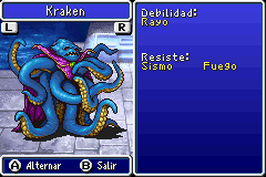 Estadisticas Kraken 2