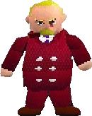 Presidente Shinra 3D FFVII