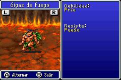 Estadisticas Gigas de Fuego 2