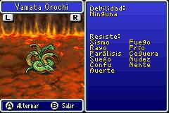 Estadisticas Yamata Orochi 2