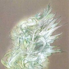 Ilustración de su estado cristal