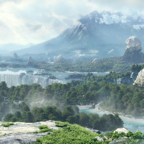 Otro panorama de Eorzea.