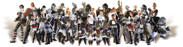 FFXIV playable races