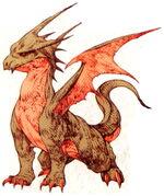Dragon FFT Ilustracion