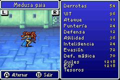 Estadisticas Medusa Gaia