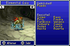 Estadisticas Elemental Gaia 2