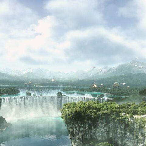 Vista panorámica de Eorzea.