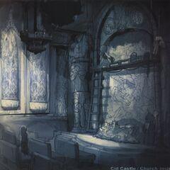 Arte conceptual de la Iglesia