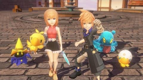 World of Final Fantasy - Coming to STEAM on 21.11.17