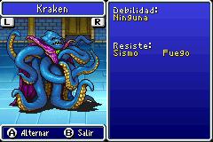 Estadisticas Kraken 4