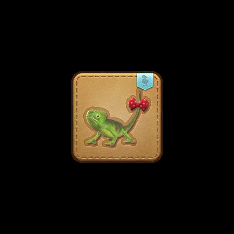 La mascota Chameleon obtenible en Qitana Ravel.