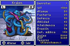 Estadisticas Kraken
